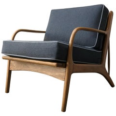 """Mexican Midcentury Lounge Chair, """"Malinche"""", 1950s"""