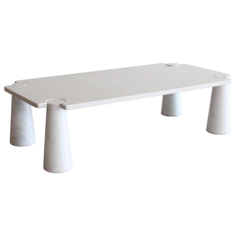 Angelo Mangiarotti Rectangular Coffee Table