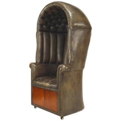 English Georgian Style Draft Armchair