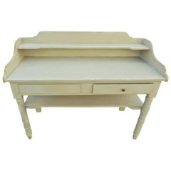 French XIX Painted Server or Vanity
