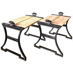 Pair of Benches by Folke Bensow