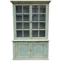 Vintage French Dresser / Tall Boy / Vitrine