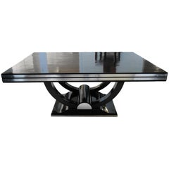 Expandable Art Deco Dining Table, France circa 1930