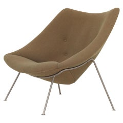 Oyster Lounge Chair by Pierre Paulin