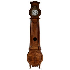 Early 19th Century French Walnut Long Case Clock