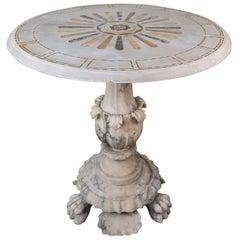 19th Century Italian Pietra Dura Centre Table
