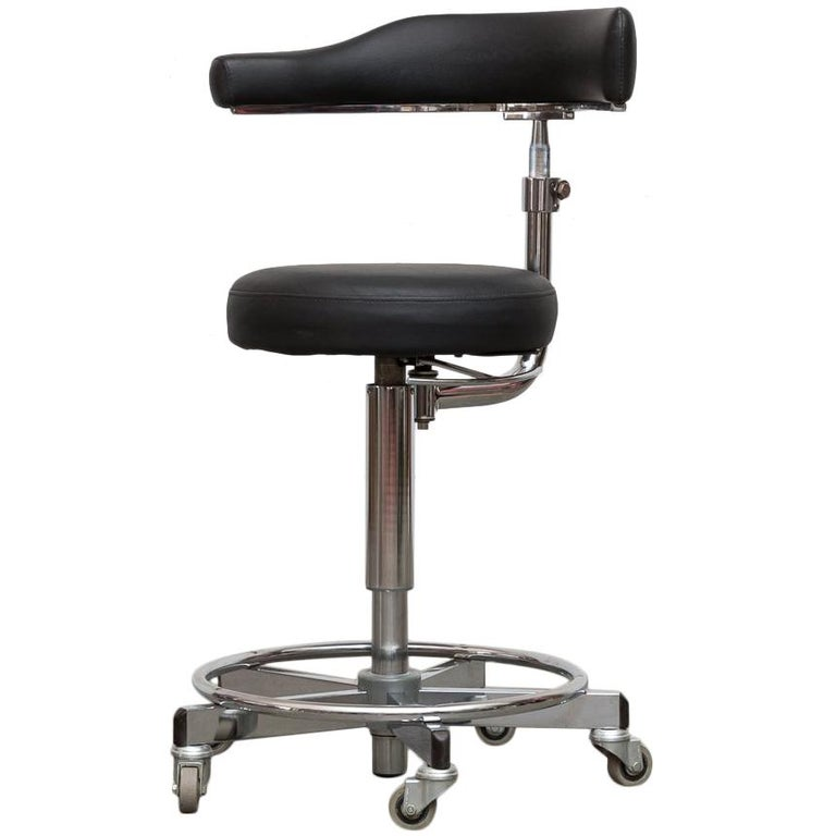 German Rolling Task Stool For Sale