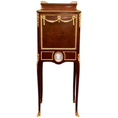 "Antique French ""Bijoutier"" Jewelry Cabinet, circa 1840-1860"