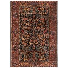 Antique Persian Feraghan Rug