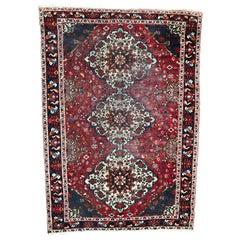 Vintage Large Persian Afshar Rug