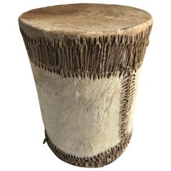 Late 19th Century Native American Drum