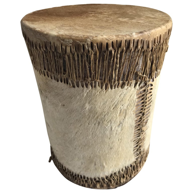 Late 19th Century Native American Drum For Sale