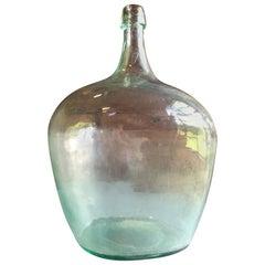 Large Handblown Demi-John Bottle
