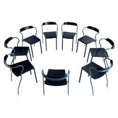 Set of six Chairs by Pascal Mourgue Rio for Artelano, France, 1991