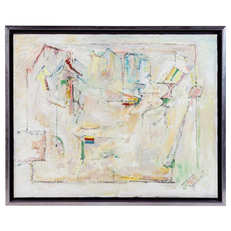 Original, Abstract Painting by Hans Burkhardt