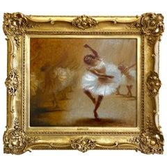 """the Ballerina"" by Paul-eugène Mesplès"