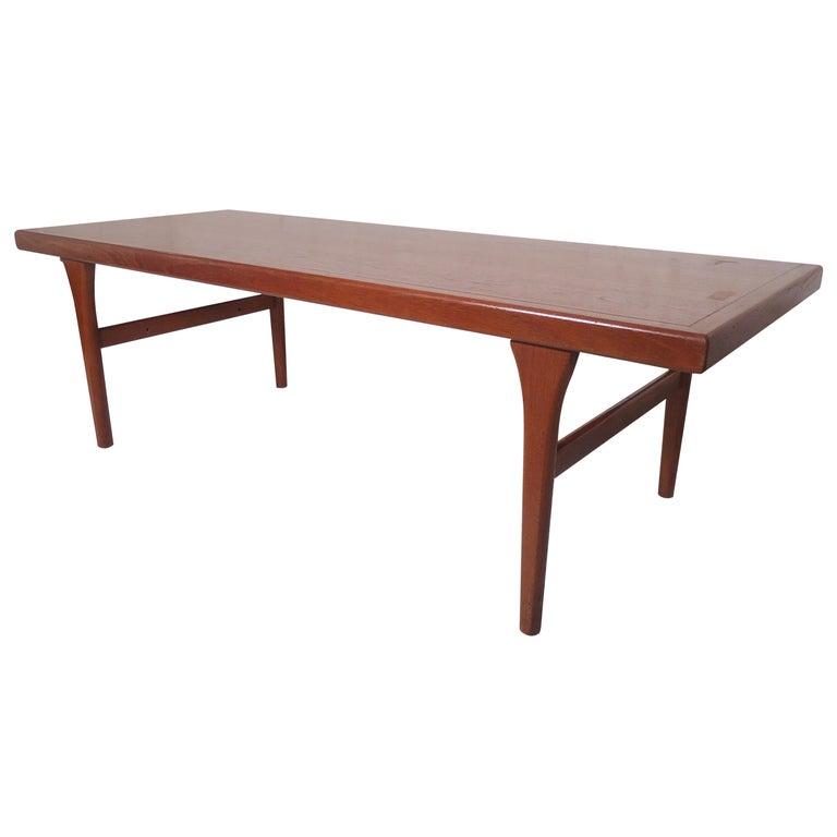 Mid Century Modern Danish Coffee Table For