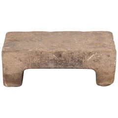 19th Century Provincial Chinese Washing Stone