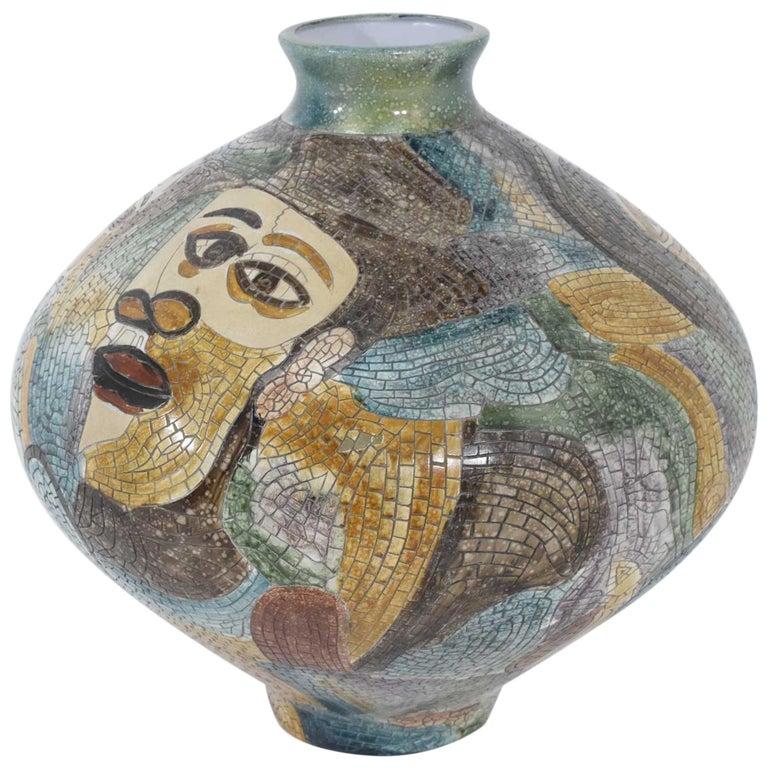 Pablo Picasso Large Ceramic Wood Owl Vase 1952 At 1stdibs