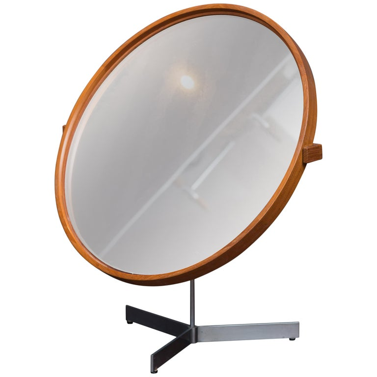 Danish Vanity Mirror For Sale