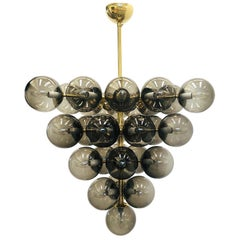 Smoky Grapes Chandelier