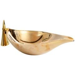 Carl Auböck Model #3514 Brass Bowl