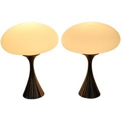 Pair of Laurel Mushroom Lamps