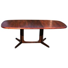 Mid-Century Rosewood Extension Table by Gudme Mobelfabrik