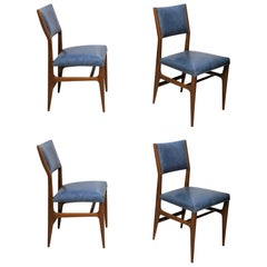 Gio Ponti Dining Chairs for Singer and Sons, Set of Four