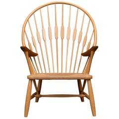 Hans Wegner Peacock Chair for Johannes Hansen