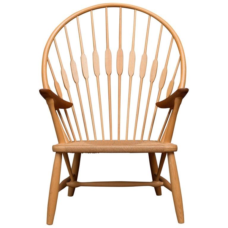 Hans Wegner Peacock Chair for Johannes Hansen For Sale