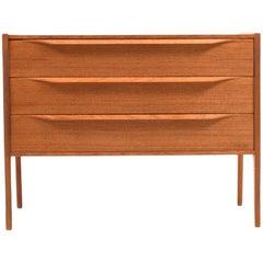 Danish Teak Wooden Chest of Drawer by Aksel Kjersgaard