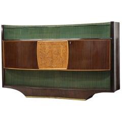 Stunning Italian Sideboard Credenza Rosewood Vittorio Dassi Midcentury, 1950s