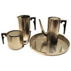 Arne Jacobsen Stelton Cylinda Beverage Set, Denmark