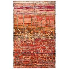 Colorful Vintage Moroccan Rug