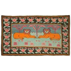 Vintage Persian Shiraz Kilim