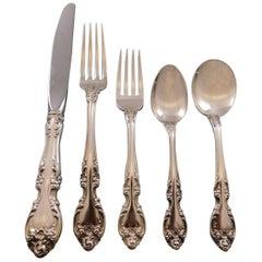 Melrose by Gorham Sterling Silver Flatware Set for 12 Service 60 Pcs Dinner Size
