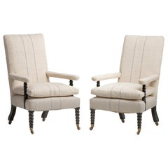 Pair of Regency Armchairs, circa 1820