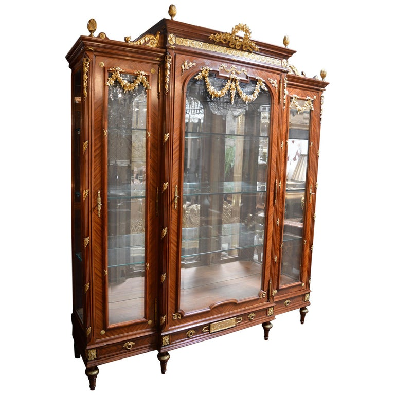 19th Century French Vitrine For Sale