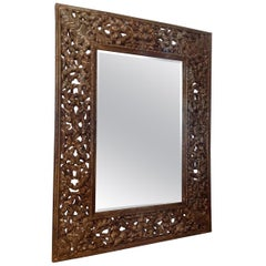 Elaborate Anglo-Indian Mirror