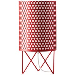 Joaquim Ruiz Millet 'ABC' Table Lamp in Red