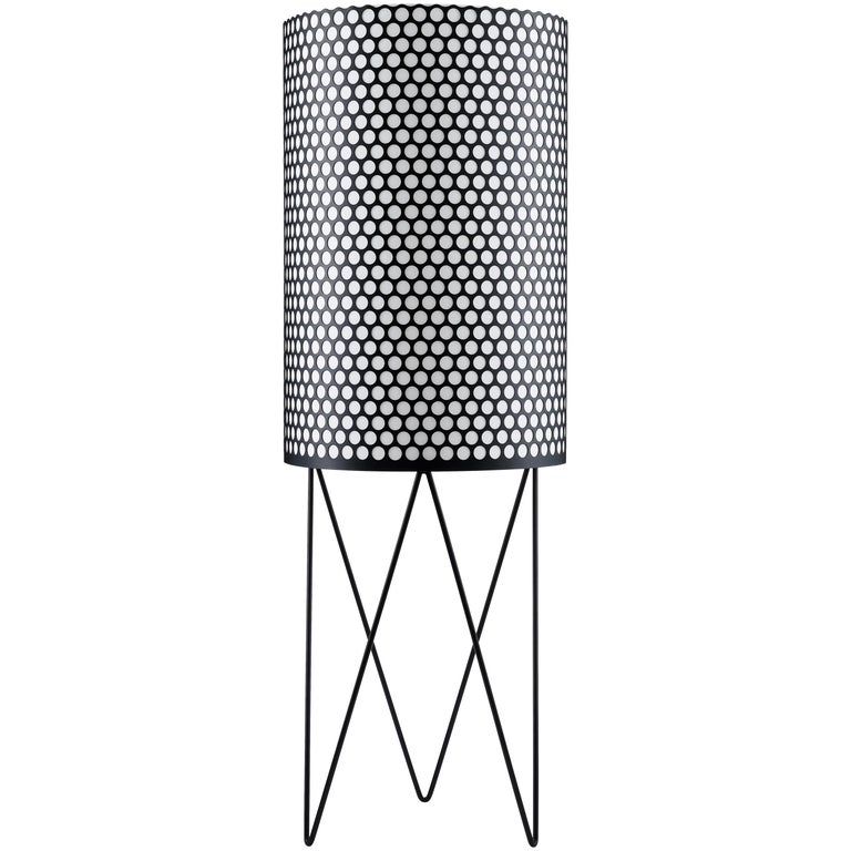 Barba Corsini 'PD2' Pedrera Floor Lamp in Black For Sale