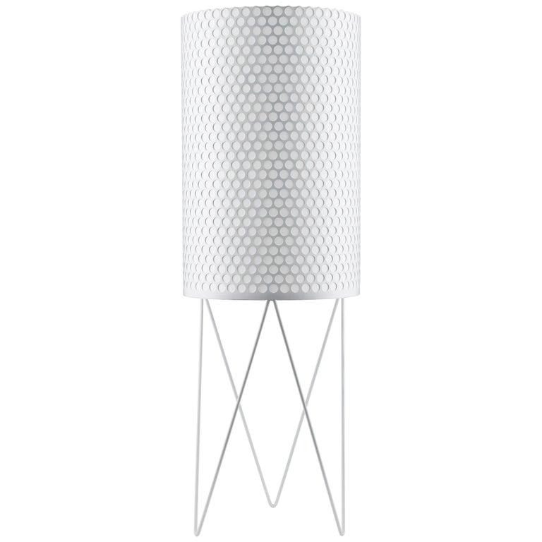 Barba Corsini 'PD2' Pedrera Floor Lamp in White For Sale