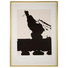 """Africa 2"" Silkscreen by Robert Motherwell"