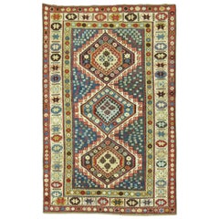 Tribal Antique Caucasian Kuba Rug