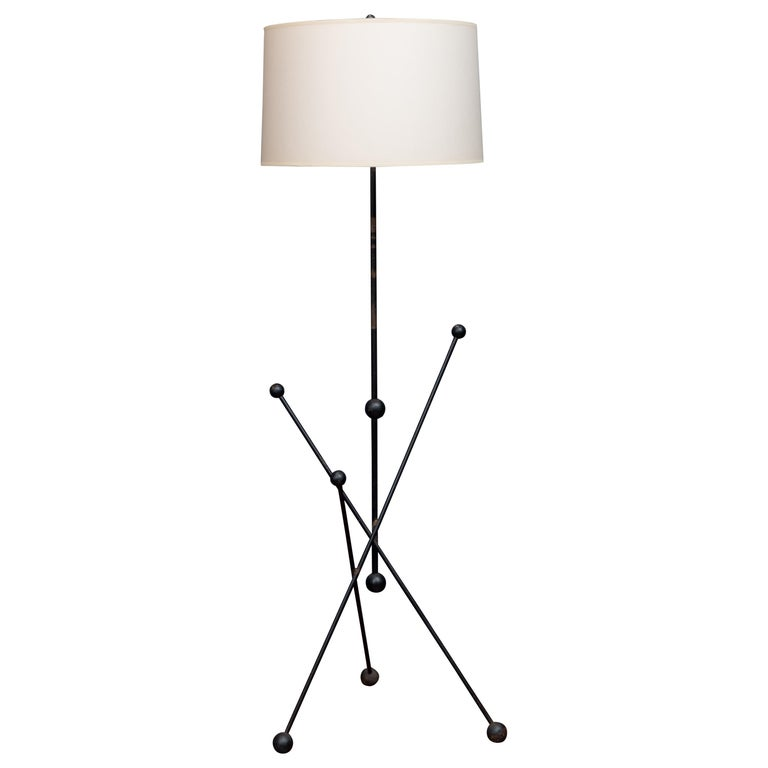 Midcentury French Floor Lamp For Sale