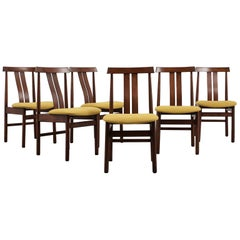 Set of Six Modern Style Korean Dining Room Chairs