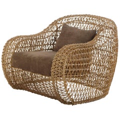 Balou Outdoor / Indoor Easy Armchair by Kenneth Cobonpue