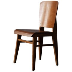 Wooden Standard Chair by Jean Prouvé, 1940s