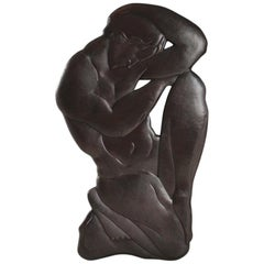 Thinker Wall Art Decoration Sculpture